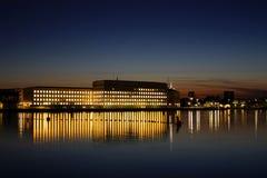 Mærsk Gebäude, Kopenhagen Stockbild