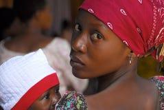 Mère africaine Image stock