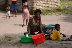 Mère africaine Photos stock