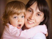 Mère avec l'enfant photo libre de droits