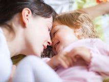 Mère avec l'enfant Images libres de droits