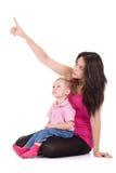 Mère avec l'enfant Photos libres de droits