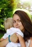 Mère avec l'enfant photographie stock libre de droits
