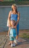Mère avec le descendant Photos libres de droits