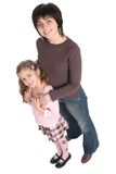 Mère avec le descendant photo libre de droits