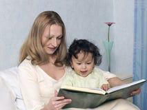 Mère avec le fils. Images stock