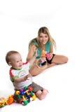Mère avec un enfant Photos libres de droits