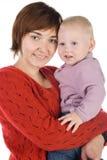 Mère avec une chéri Images stock