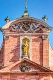 Mère d'église paroissiale de Dieu à Aschaffenburg Photo libre de droits