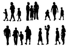 mère d'enfant Photo libre de droits