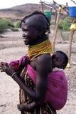 mère d'enfant Image libre de droits