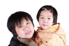 Mère-descendant chinois Photographie stock libre de droits