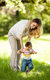 Mère et bébé Photo libre de droits