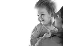 Mère et beau bébé Images stock