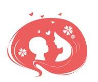 Mère et chéri Illustration Stock