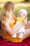 Mère et chéri Photos stock