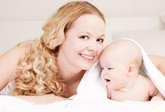 Mère et chéri Photos libres de droits
