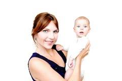 Mère et chéri Images stock