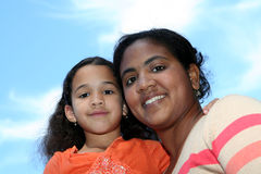 Mère et descendant Photographie stock libre de droits