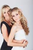Mère et descendant Photographie stock