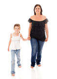 Mère et descendant Photo libre de droits