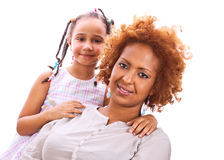Mère et descendant Photos stock