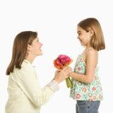 Mère et descendant. image stock
