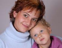 Mère et descendant Photo stock