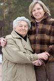 Mère et descendant Photos libres de droits