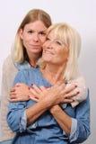 Mère et descendant aînés Image stock