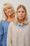 Mère et descendant aînés Image libre de droits