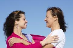 Mère et descendant d'amitié Photographie stock libre de droits