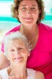 Mère et descendant ensemble Image stock