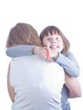 Mère et descendant ensemble Image libre de droits