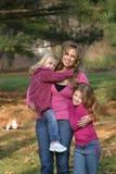 Mère et descendants Photos stock