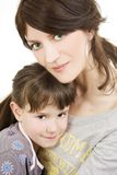 Mère et enfant Photographie stock libre de droits