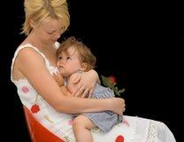 Mère et enfant Images libres de droits