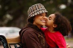 Mère et enfant Photo libre de droits