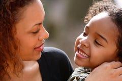 Mère et enfant Image libre de droits