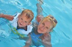Mère et enfant Image stock