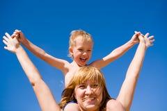 Mère et enfant (fils) Images libres de droits