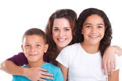 Mère et enfants Image stock