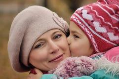 Mère et fille Photo stock
