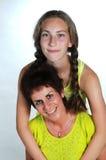Mère et fille photo libre de droits