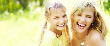 Mère et fille image libre de droits
