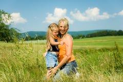 Mère et fille images stock