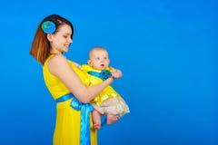 Mère et fille Famille heureux Photos libres de droits