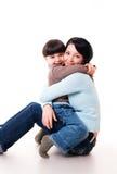 Mère et fils Photographie stock libre de droits