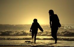 Mère et fils Photos libres de droits