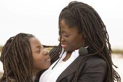 Mère et fils Images libres de droits